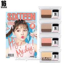 16 BRAND Eye Magazine 2.5g*2ea Set,16 Brand