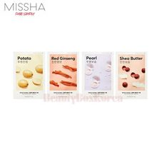 MISSHA Airy Fit Sheet Mask 19g*10ea,MISSHA