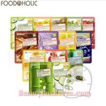 FOODAHOLIC 3D  Natural Essence Mask 23g *20ea,FOOD A HOLIC