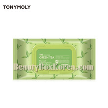 TONYMOLY The Chok Chok Green Tea No-Wash Cleansing Tissue 100ea,Own label brand