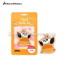 DREAMWORKS Kung Fu Panda Fragrance Card-Peach 1ea,Dreamworks