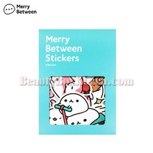 MERRY BETWEEN Deco Stickers-Mochi 1ea,MERRY BETWEEN