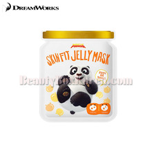 DREAMWORKS Kung Fu Panda Skin Fit Jelly Mask-Tone Up/Revitalizing 25g,Dreamworks