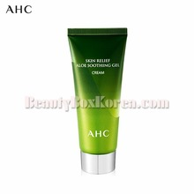 AHC Skin Relief Aloe Soothing Gel Cream 100ml,AHC