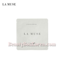LA MUSE Milk Fiber Mask Pack 32g,LAMUSE