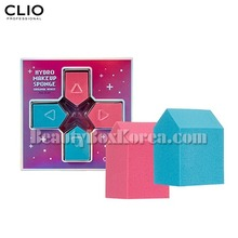 CLIO Hydro Makeup Sponge Original(House) 4ea[Adventure Collection],CLIO
