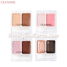 CEZANNE Two Color Eyeshadow 4g,CEZANNE