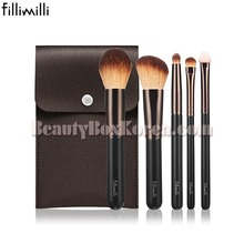 FILLIMILLI Mini Makeup Brush Set 5items,FILLIMILLI