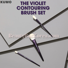 KUMO X SSIN The Violet Contouring Brush Set 3items,KUMO