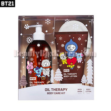 BT21 Oil Therapy Body Care Kit 3items,BT21