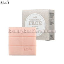 DEAR KLAIRS Rich Moist Facial Soap 100g,KLAIRS