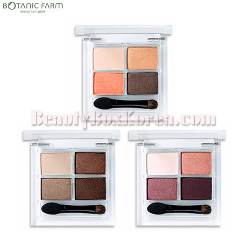 BOTANIC FARM Garden Flower 4Color Eyeshadow Palette 7.2g,BOTANIC FARM