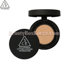 3CE Fitting Cushion Foundation 12g+Refill 12g,3CE