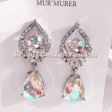 MUR'MURER Romantic Swarovski Romance Holic Earrings 1pair,MUR'MURER