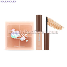 HOLIKA HOLIKA Piece Matching Shadow 6g+Gel Brow Perfector 5.5ml[2019 S/S Nudrop],HOLIKAHOLIKA