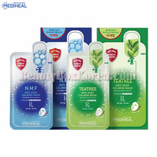 MEDIHEAL Anti-Dust Calming Mask 24~27ml*10ea,MEDIHEAL