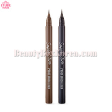 ETUDE HOUSE Super Slim Proof Brush Liner 0.6g,ETUDE HOUSE