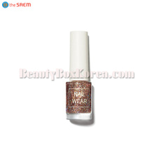 THE SAEM Nail Wear #100 Coral Universe 7ml,THE SAEM