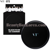 VT X BTS Black Fix On CC Cushion 12g,Beauty Box Korea