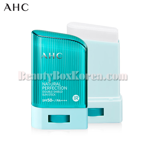 AHC Natural Perfection Double Shield Sun Stick Blue SPF50+ PA++++ 22g,AHC