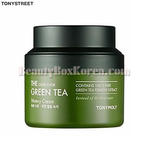 TONYMOLY The Chok Chok Green Tea Watery Cream 100ml,TONYMOLY