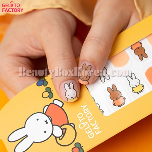 GELATO FACTORY Hatto Hatto Nail Fit 1ea[Miffy Edition],GELATO FACTORY