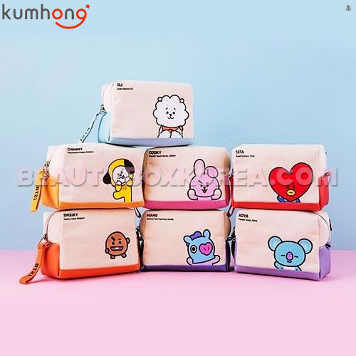 KUMHONG X BT21 Canvas Volume Pouch 1ea,Own label brand