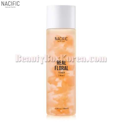 NACIFIC Real Floral Toner Rose 180ml,Other Brand