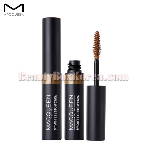 MACQUEEN NEWYORK My Soft Eyebrowcara 4.5g,MACQUEEN New York