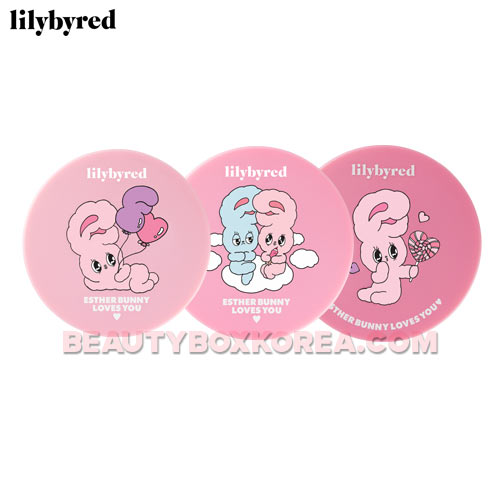 LILYBYRED X ESTHER BUNNY Cotton Blur Cushion SPF50+ PA+++ 14g,LILYBYRED