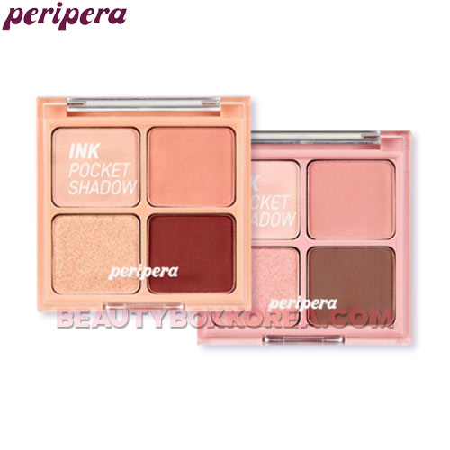 PERIPERA Ink Pocket Shadow Palette 2g*4colors,PERIPERA