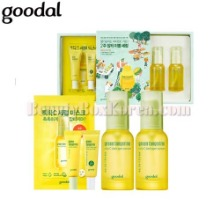 GOODAL Green Tangerine Vita C Dark Spot Serum Double Edition Set 5items,GOODAL