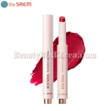 THE SAEM Eco Soul Kiss Button Lips Matte 2g,THE SAEM