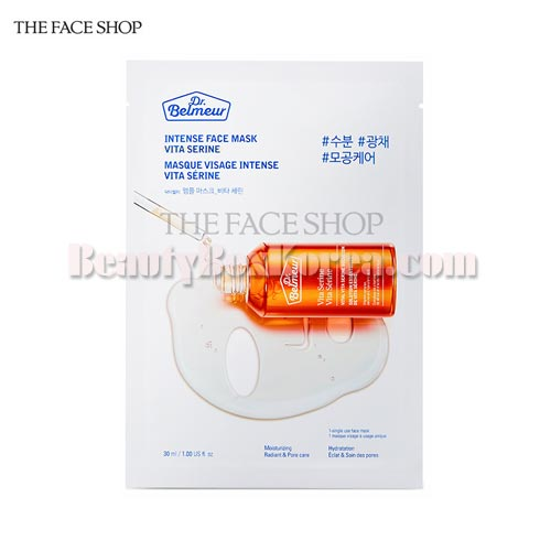 THE FACE SHOP Dr.Belmeur Ampoule Mask Vita Serine 30ml,THE FACE SHOP