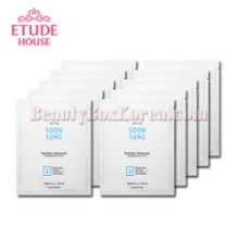 ETUDE HOUSE Soon Jung Panthensoside Sheet Mask 25ml*10ea,ETUDE HOUSE