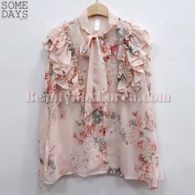 SOMEDAYS Candle Pearl Flower Blouse 1ea,SOMEDAYS
