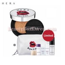 HERA Black Cushion SPF34/PA++ Set 7items [Au Jour Le Jour Collection],HERA