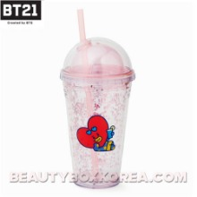 BT21 Bon Voyage Ice Glitter Tumbler 473ml 1ea,BT21
