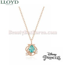 LLOYD The Little Mermaid Ariel Necklace 1ea LNT19029T [LLOYD X DISNEY Princess],Beauty Box Korea