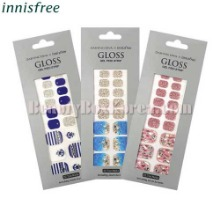 INNISFREE Gloss Gel Pedi Strip 1Set [INNISFREE X DASHING DIVA]