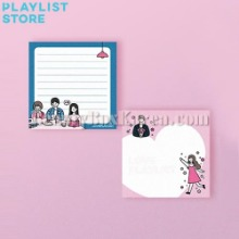 LOVE PLAYLIST Memo Pad 1ea