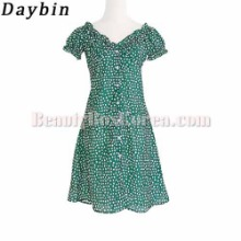 DAYBIN Green Frill Flower one piece 1ea,Beauty Box Korea