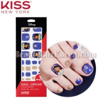 KISS NEW YORK Nail Dress Pedicure 1ea [Disney Edition]