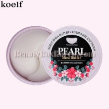 KOELF Pearl & Shea Butter Hydrogel Eye Patch 60ea