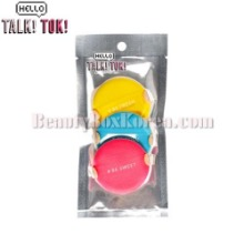 HELLO TALKTOK Cushion Puff Set 3items