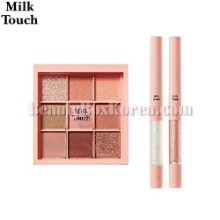 MILK TOUCH Be my Muse Eye Palette + Milky Way Twinkle Dual Eye Set 3items