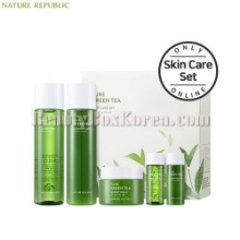 NATURE REPUBLIC Pure Green Tea Skin Care Set 5items [Online Excl.]