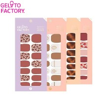 GELATO FACTORY Hatto Hatto Nail Fit 1ea [Autumn Mood Palette]