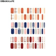 URBANSCAPE Premium Gel Nail Sticker Check Line 1ea
