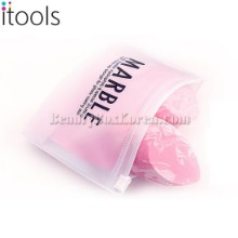 ITOOLS Marble Hydrophilic Makeup Sponge & Pouch Set 3items